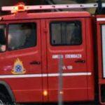 Υλικές ζημιές από φωτιά σε διαμέρισμα στους Αμπελόκηπους Θεσσαλονίκης