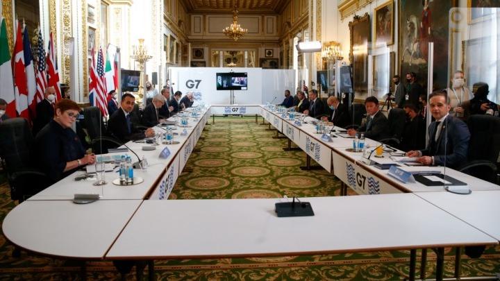 ΥΠΕΞ G7: Ανησυχία για την «ανεύθυνη και αποσταθεροποιητική στάση» της Ρωσίας – Η Κίνα να σεβαστεί τα ανθρώπινα δικαιώματα