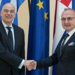 Ο ΥΠΕΞ της Κροατίας εξέφρασε την υποστήριξή του στην πρωτοβουλία του Ν. Δένδια να μεταβεί στο Ισραήλ και τα Παλαιστινιακά εδάφη