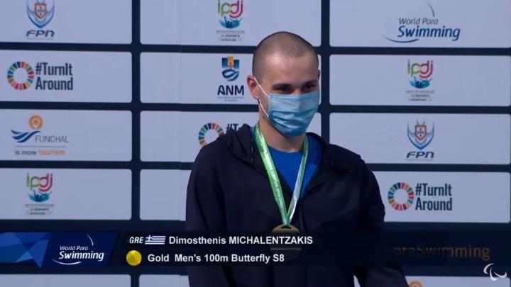 Πρωταθλητής Ευρώπης ο Μιχαλεντζάκης στα 100μ. ύπτιο, χάλκινο μετάλλιο ο Μακροδημήτρης
