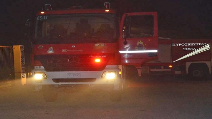 Θεσσαλονίκη: Φωτιά σε όχημα του ΕΦΚΑ