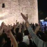 Πανηγυρισμοί στην πλατεία Λευκού Πύργου