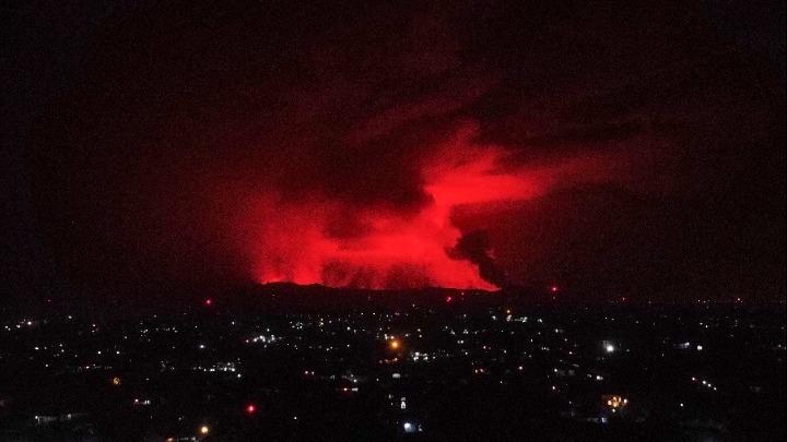 ΛΔ Κονγκό: Εξερράγη το ηφαίστειο Νιραγκόνγκο